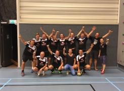 Team Bakker Automotive winnaar Bedrijfsvolleybal Barneveld